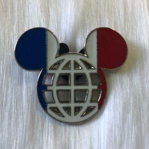 🔮 5/$25 Disney Mickey France Pin